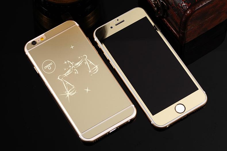 Зеркальный чехол для iPhone 6 знаки зодиака - Весы