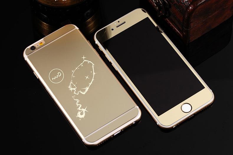 Зеркальный чехол для iPhone 6 знаки зодиака - Водолей